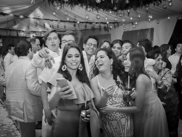 La boda de Lalo y Bárbara en Tepoztlán, Morelos 43