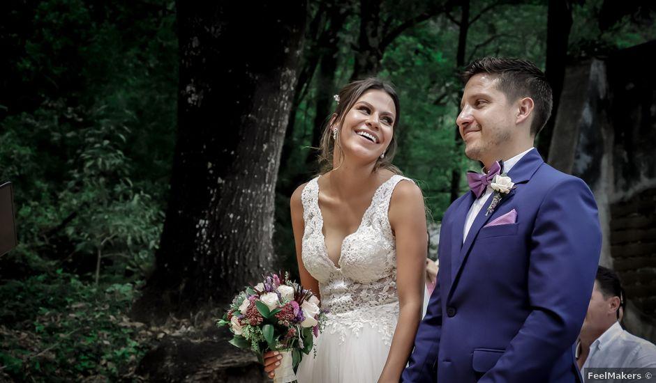 La boda de Lalo y Bárbara en Tepoztlán, Morelos