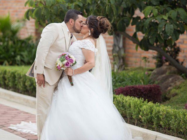 La boda de Lindsey y Rubén
