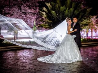 La boda de Grace y Fernando