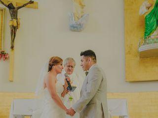 La boda de Gisela y Carlos