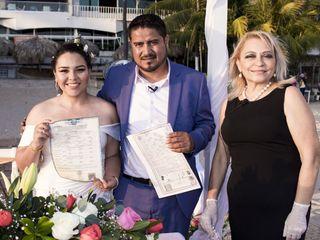 La boda de Elizabeth y Alejandro