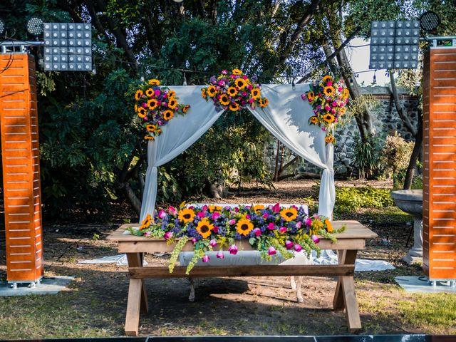 La boda de Marco y Lich en Atlixco, Puebla 14