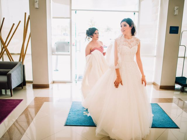 La boda de Martin y Mara en Tepotzotlán, Estado México 6