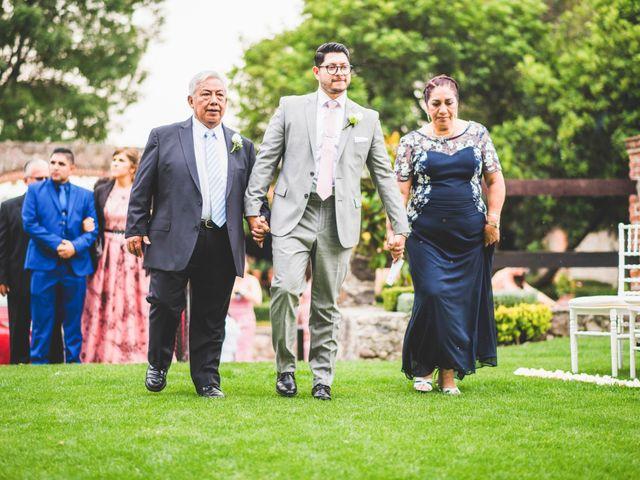 La boda de Martin y Mara en Tepotzotlán, Estado México 13