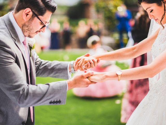 La boda de Martin y Mara en Tepotzotlán, Estado México 16