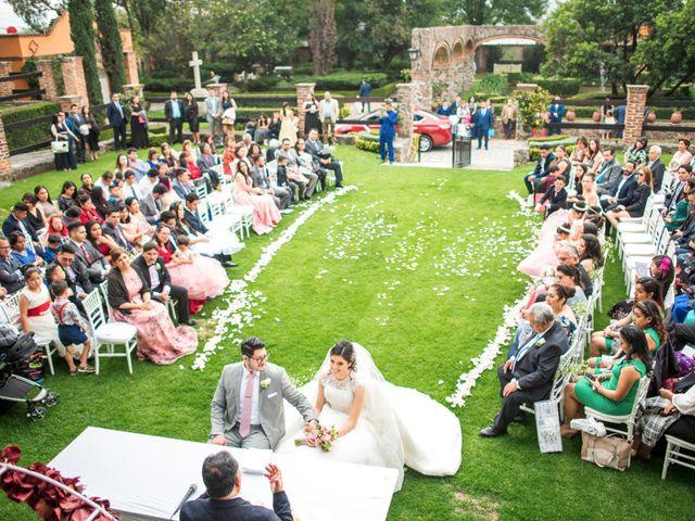 La boda de Martin y Mara en Tepotzotlán, Estado México 17