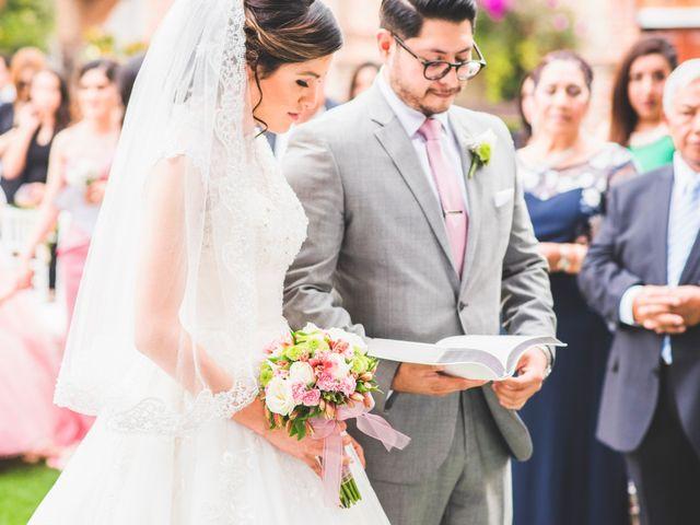 La boda de Martin y Mara en Tepotzotlán, Estado México 23