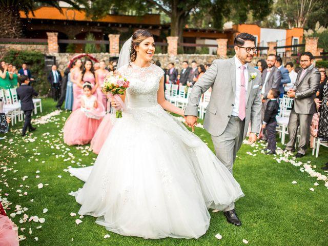 La boda de Martin y Mara en Tepotzotlán, Estado México 25