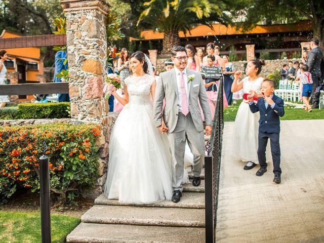 La boda de Martin y Mara en Tepotzotlán, Estado México 26