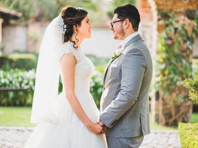 La boda de Martin y Mara en Tepotzotlán, Estado México 30