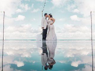 La boda de Elizabeth y Odín