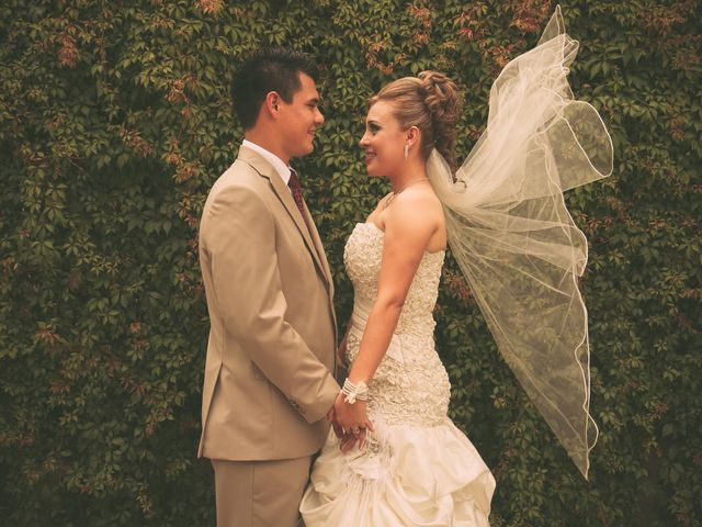 La boda de Mariana y Hiube