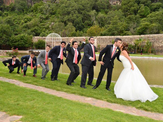 La boda de Lluís y Ayla en Huasca de Ocampo, Hidalgo 13