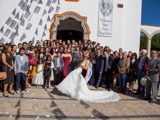 La boda de Javier y Paty en Nopala de Villagrán, Hidalgo 41