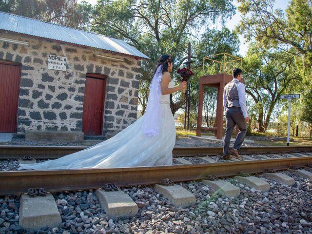 La boda de Javier y Paty en Nopala de Villagrán, Hidalgo 46