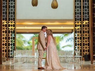 La boda de Tiffany y Donnie