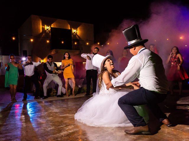 La boda de Evi y Víctor