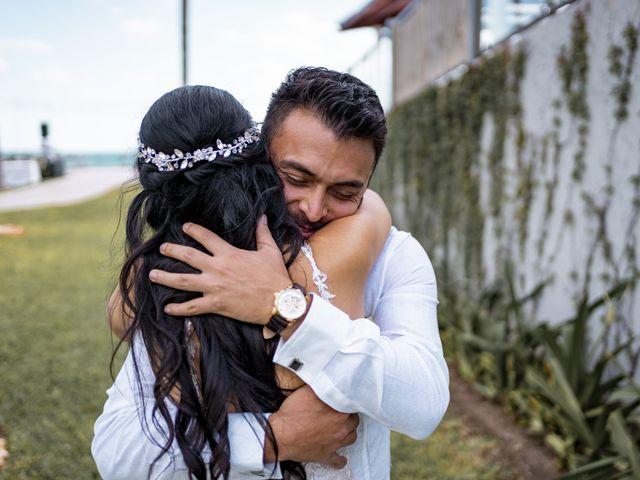 La boda de Adrián y Alejandra en Cancún, Quintana Roo 37