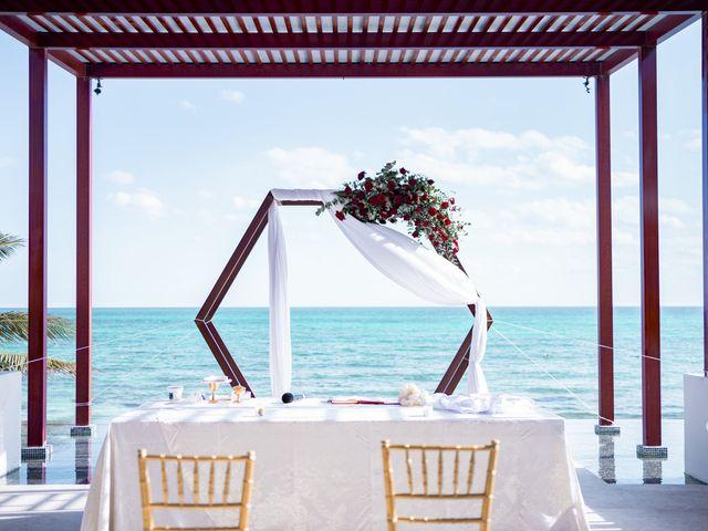 La boda de Adrián y Alejandra en Cancún, Quintana Roo 38