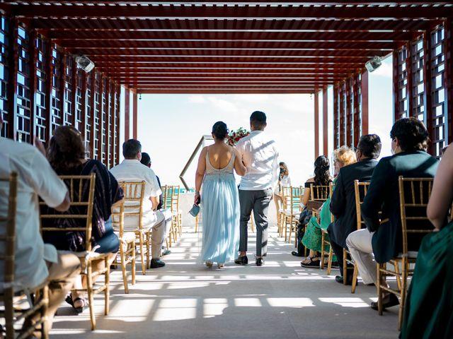 La boda de Adrián y Alejandra en Cancún, Quintana Roo 40