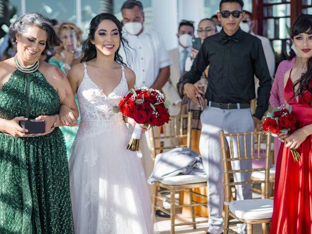 La boda de Adrián y Alejandra en Cancún, Quintana Roo 44
