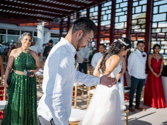 La boda de Adrián y Alejandra en Cancún, Quintana Roo 45