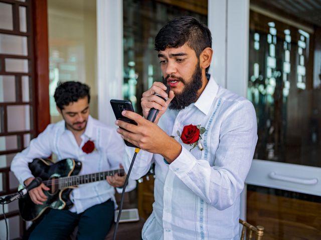 La boda de Adrián y Alejandra en Cancún, Quintana Roo 49