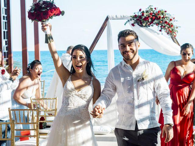 La boda de Adrián y Alejandra en Cancún, Quintana Roo 59