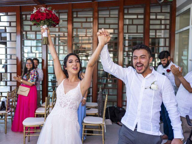 La boda de Adrián y Alejandra en Cancún, Quintana Roo 62