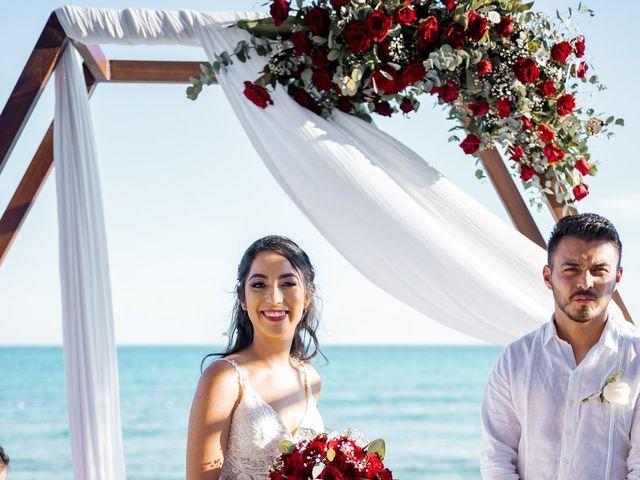 La boda de Adrián y Alejandra en Cancún, Quintana Roo 64