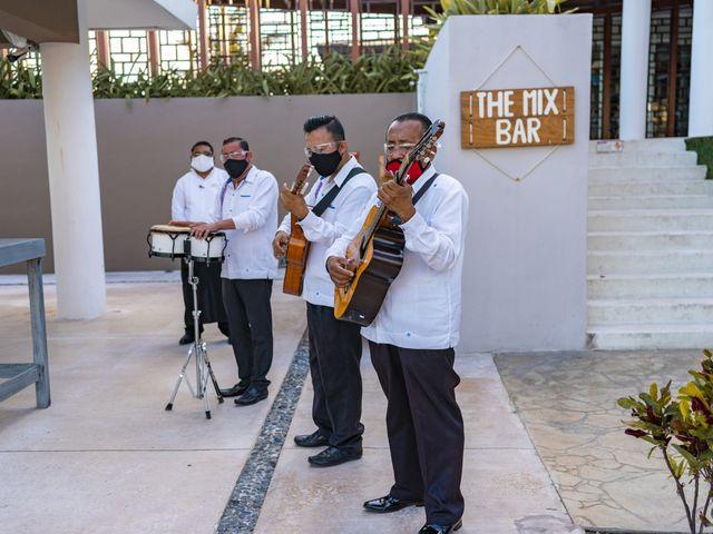 La boda de Adrián y Alejandra en Cancún, Quintana Roo 74