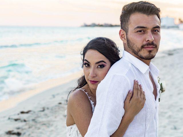 La boda de Adrián y Alejandra en Cancún, Quintana Roo 90