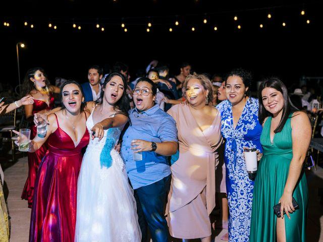 La boda de Adrián y Alejandra en Cancún, Quintana Roo 110