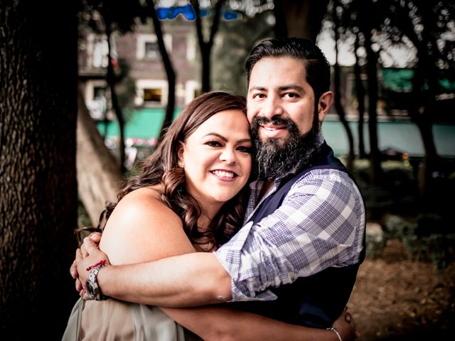 La boda de Miguel y Paty en Miguel Hidalgo, Ciudad de México 35
