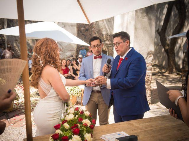 La boda de Alex y Alondra en Yautepec, Morelos 14