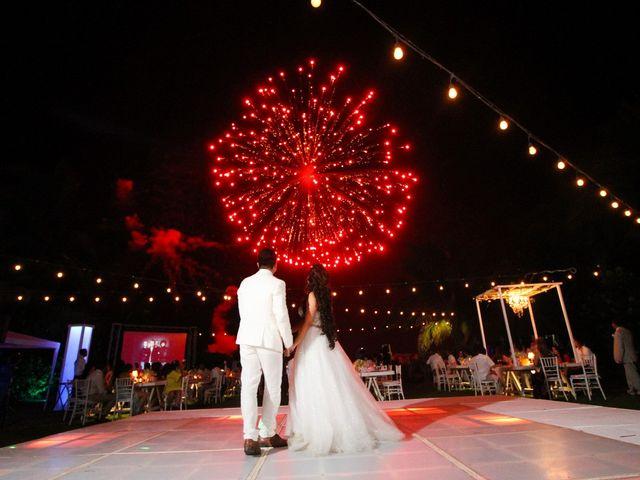 La boda de Santiago y Marjorie