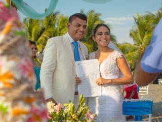 La boda de Andy y Ángel