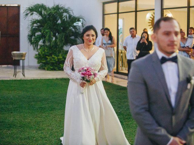 La boda de Dazaet y Deysi en Cantamayec, Yucatán 20