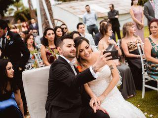 La boda de Sarah y Simón