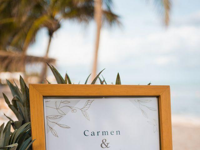 La boda de Fernando y Carmen en Playa del Carmen, Quintana Roo 34