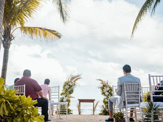 La boda de Fernando y Carmen en Playa del Carmen, Quintana Roo 40