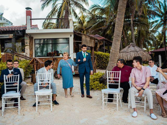 La boda de Fernando y Carmen en Playa del Carmen, Quintana Roo 42