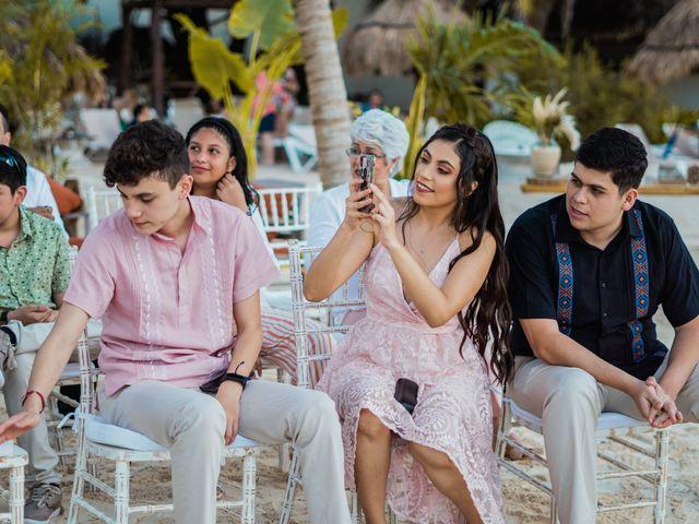 La boda de Fernando y Carmen en Playa del Carmen, Quintana Roo 43