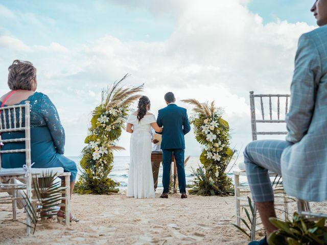 La boda de Fernando y Carmen en Playa del Carmen, Quintana Roo 47