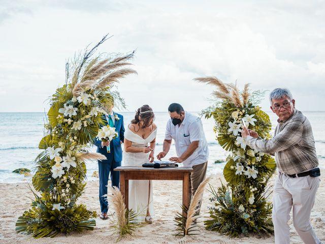 La boda de Fernando y Carmen en Playa del Carmen, Quintana Roo 50