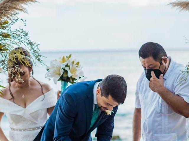 La boda de Fernando y Carmen en Playa del Carmen, Quintana Roo 51