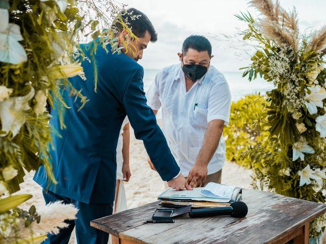 La boda de Fernando y Carmen en Playa del Carmen, Quintana Roo 52