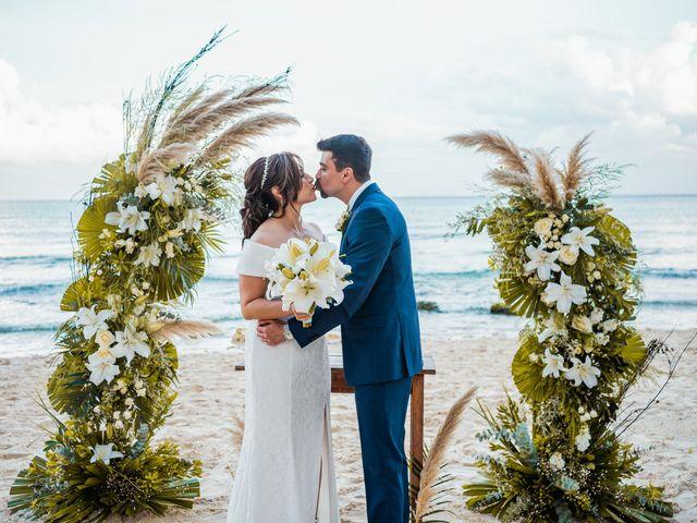 La boda de Fernando y Carmen en Playa del Carmen, Quintana Roo 54