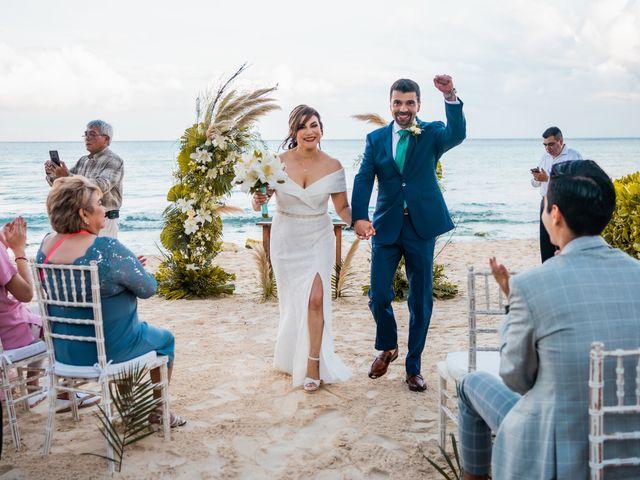 La boda de Fernando y Carmen en Playa del Carmen, Quintana Roo 55